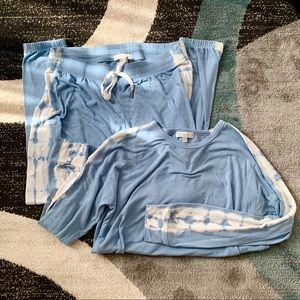 PJ Salvage Tie Dye Pajama Lounge Set